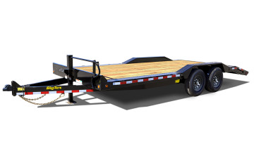 Heavy Duty Drive-Over Fender Equipment/ Car Hauler