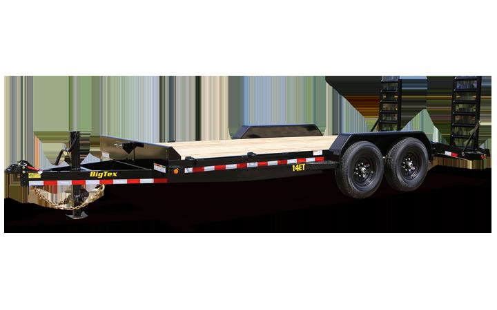 Heavy Duty Tandem Axle Equipment Trailer