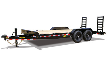 Big Tex E 14ET-20BK-KR Heavy Duty Tandem Axle 14K Equipment Trailer w/Mega Ramps