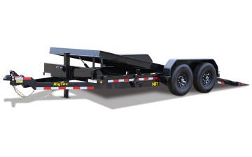 """14FT-83"""" x 18 Heavy Duty Full Tilt Bed Equipment Trailer"""