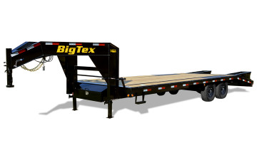 Big Tex 14GN 14,000#,TA,GN,(8 1/2 x 25+5 Black,DT with 2-Megaramps #7856