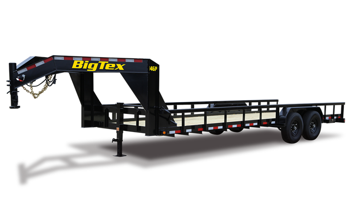 Heavy Duty Pipe Top Gooseneck Lowboy Trailer