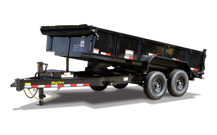 Heavy Duty Low Profile Dump Trailer