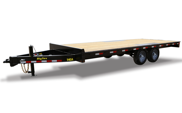 Heavy Duty Over-The-Axle Bumperpull Trailer