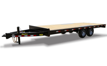 OVER/AXLE FLATBED,14K,86x24 STD.W/2-ELECTRIC BRAKES