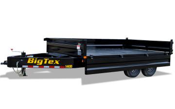 8x14 Big Tex Deck-Over Dump TA 14OD