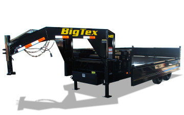 8x14 Big Tex Deck-Over Gooseneck Dump TA 14OD-GN