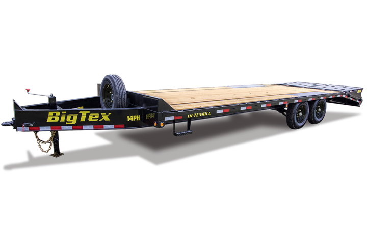 Single Wheel Tandem Axle Pintle Trailer