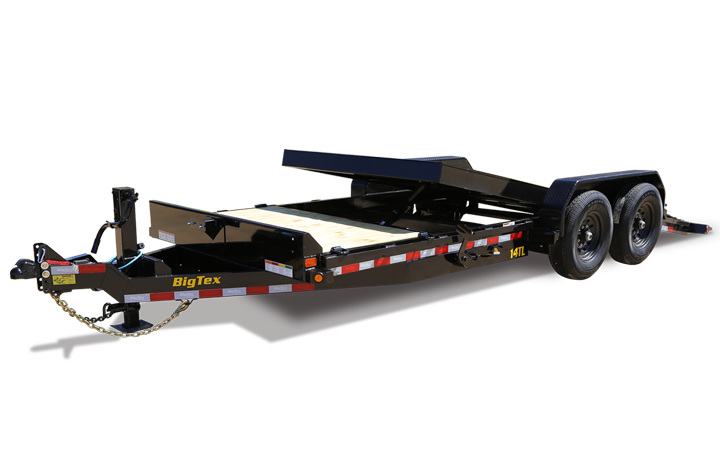 Heavy Duty Tilt Bed Equipment Trailer