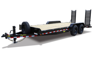 "16ET-83"" x 19 + 3 (19 Deck w/ 3 Cleated Dovtail) Equipment Trailer"