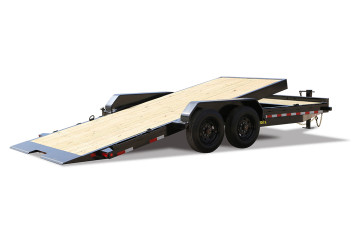 "Big Tex 16TL-83"" x 20 (16 + 4) Super Duty Tilt Bed Trailer"
