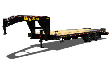 Big Tex 20GN 20,000#,TD,GN,(8 1/2 x 20 + Black,Dovetail with 5 Fold-up