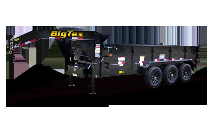 Triple Axle Extra Wide Dump Trailer