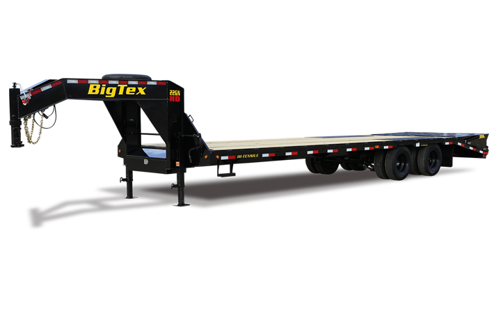 "Big Tex 22GN 102"" x 28 + 5 Tandem Dual Wheel Gooseneck"