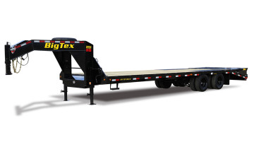 "Big Tex 22GN 102"" x 20 + 5 Tandem Dual Wheel Gooseneck"