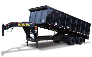 Big Tex 25DU 25,900#,TD,DU,(8X20) 4SIDES Black,8 Slide in Ramps