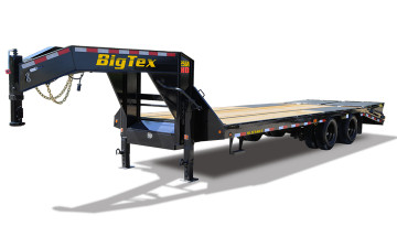 "Big Tex 25GN 102"" x 28 + 5 Tandem Dual Wheel Gooseneck"