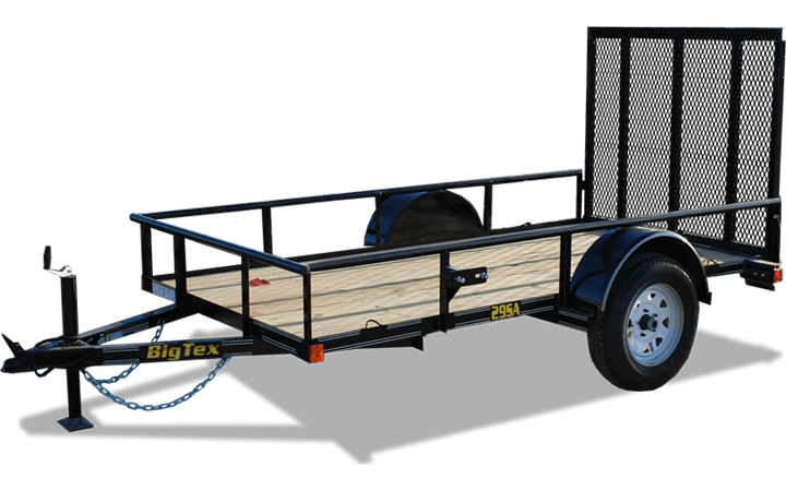 "60"" x 10 Economy Single Axle Utility Trailer"