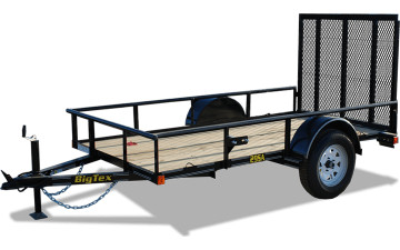 "60"" x 10 Economy Single Axle Utility Trailer"