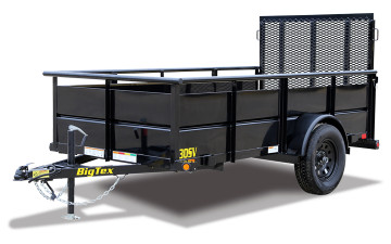 BIG TEX 30SV-10 SINGLE AXLE UTILITY 5x10 (1 ARRIVING 4/19/21)