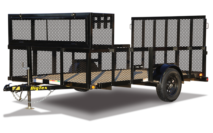 Single Axle Landscape Trailer