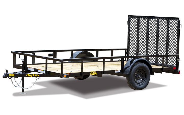 "77"" x 14 Single Axle Utility Trailer"