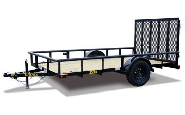 "Big Tex 35SA-X 83"" x 12 Single Axle Utility Trailer"