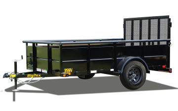 "Big Tex 35SV 77"" x 12 Single Axle Vanguard Trailer"