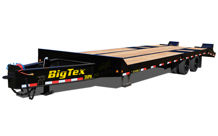 Super Duty Tandem Dual Axle Pintle Trailer