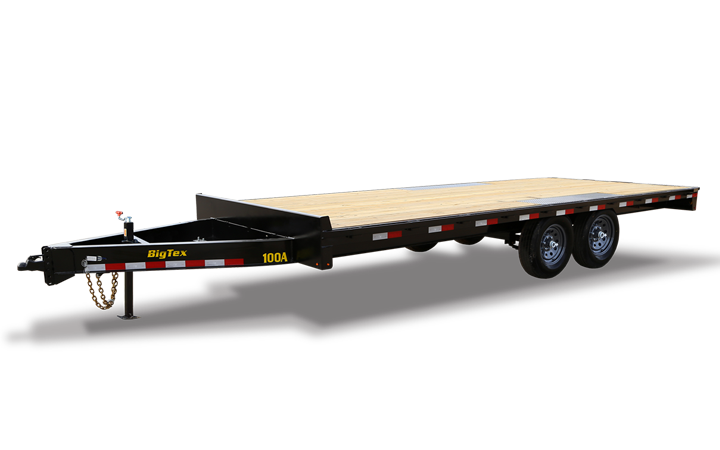 Pro Series Over-The-Axle Bumperpull Trailer
