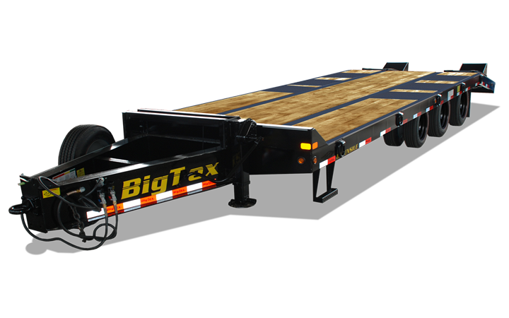 Pintle Heavy Equipment Transport Trailer