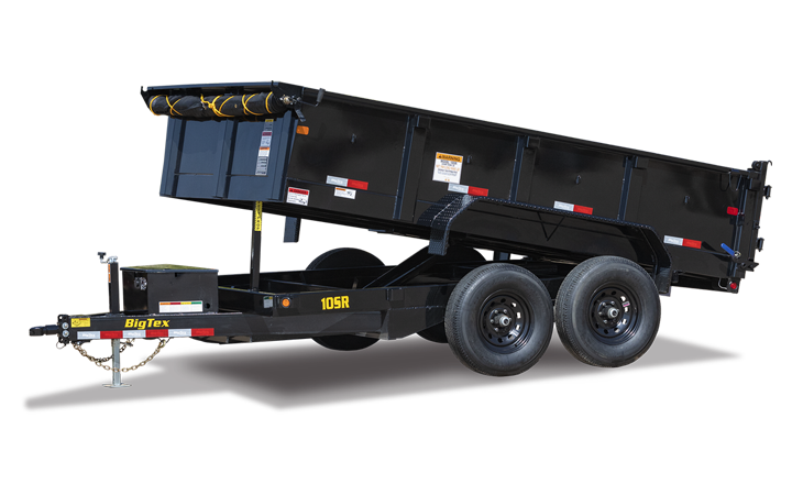 Pro Series Tandem Axle Single Ram Dump Trailer
