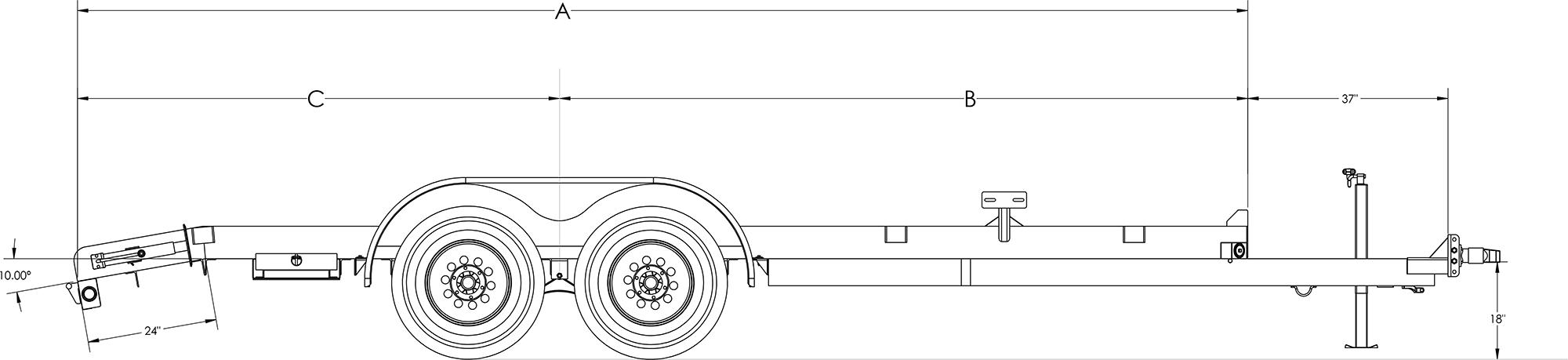 Pro Series Tandem Axle Car Hauler