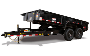 BIG TEX 14LD 7X14 14K DUMP TRAILER