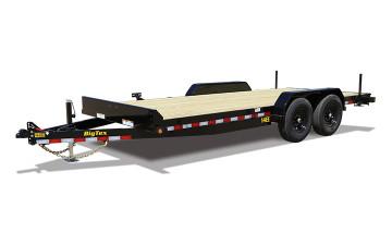 "Big Tex 14EE 83"" x 18 Tandem Axle Equipment Trailer"
