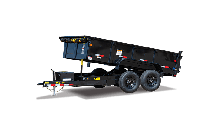 Pro Series Tandem Axle Single Ram Dump