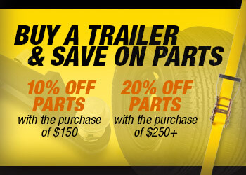 Buy a trailer, save on parts