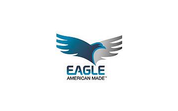Eagle E EFB718TA2 Auto/Equipment Flatbed Trailer 7K