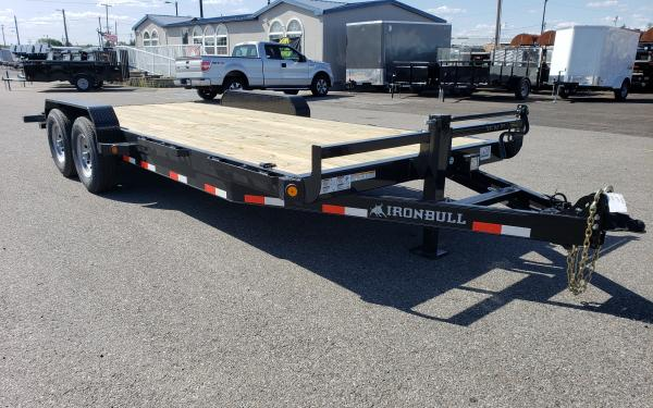7x20 Ironbull Equipment Trailer 14k