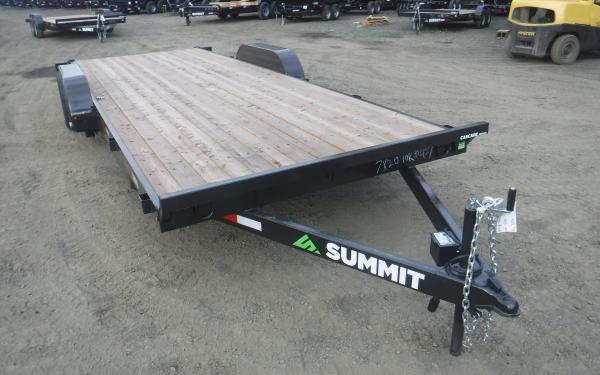 7x20 Summit Cascade Fixed Equipment Trailer 14k