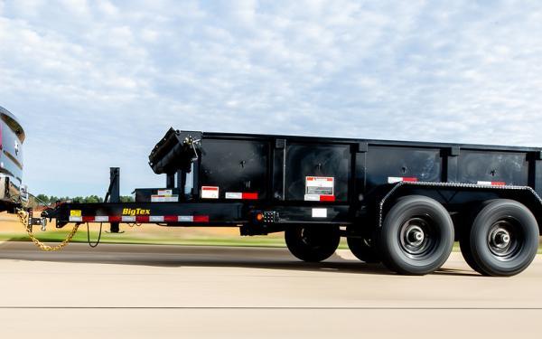"""Big Tex 14LP 14K TAND LP DUMP 83""""x14 6SIR Black"""