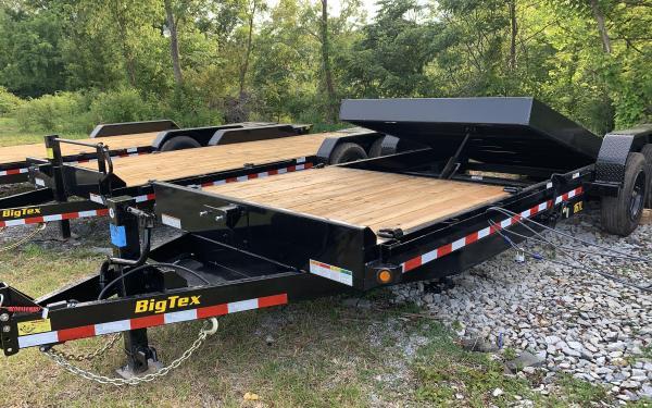 """Big Tex 16TL 83"""" x 22 (16 + 6) Super Duty Tilt Bed Trailer 17.5k"""