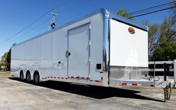 2022 All Aluminum 8.5 x 32 Sundowner Race Trailer Special Order