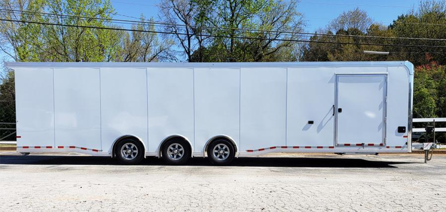 2020 All Aluminum 8.5 x 32 Sundowner Race Trailer Loaded $38,790.00