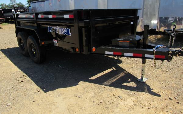 Load Trail 6'x12' Tandem Axle Dump Trailer