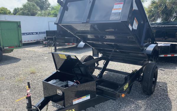 Big Tex 50SR 5 x 8 Single Axle Single Ram Dump