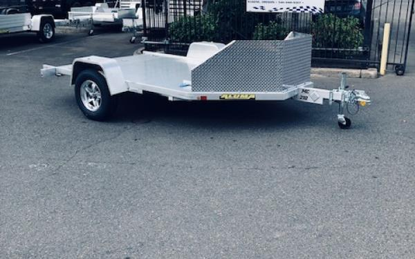 Aluma E MC210 Motorcycle Trailer
