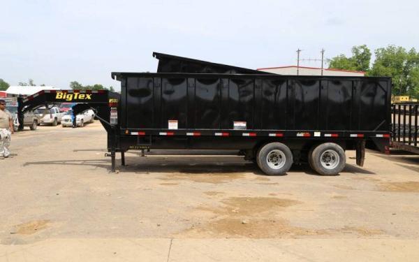 """25DU Big Tex Tandem Dual Dump 92""""x18'"""