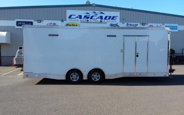2020 CargoMate  ELA8524TA3 Eliminator   8.5 x 24 Tandem Axle Enclosed Race Trailer
