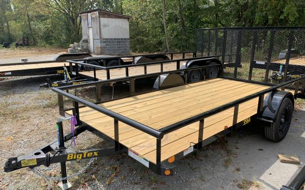 "Big Tex 35SA Single Axle Utility Trailer 6'5""x14'"